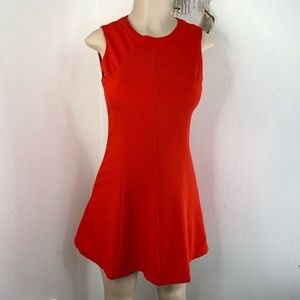 Tea & Cup Red Party Dress Women's